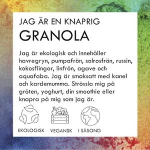 KNAPRIG GRANOLA MED KANEL & KARDEMUMMA 500g