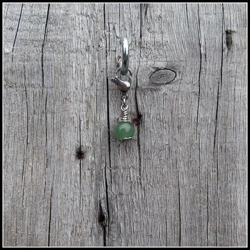 Grön Aventurin Berlock