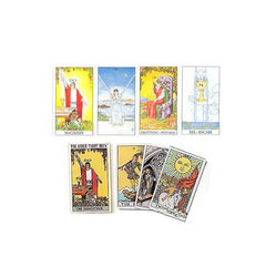 Rider-Waite Tarot, svenska, pocket