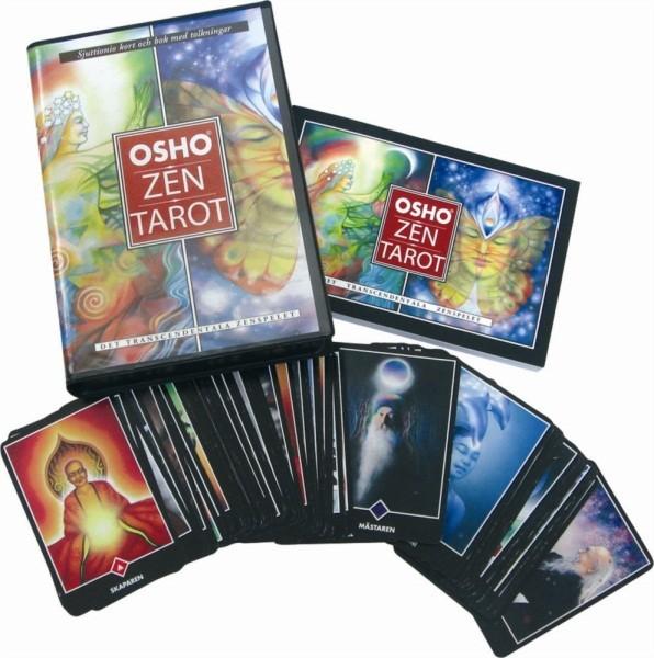Osho zen tarot box (svensk)