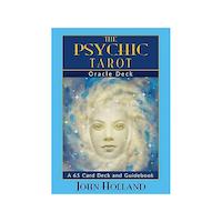Psychic Tarot - Orakelkort Engelska