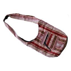 Cotton bag rödbrun, väska