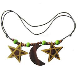Halsband, Pentagram & Måne