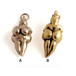 Gudinnan Venus i brons