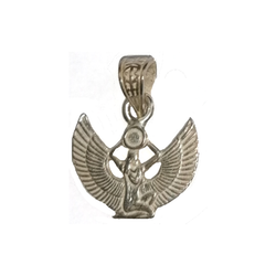 Hänge - Isis, silver 15x13mm