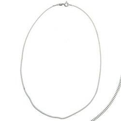 Silverkedja 40 - 76 cm