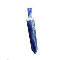 Lapis Lazuli healingstav med ängel