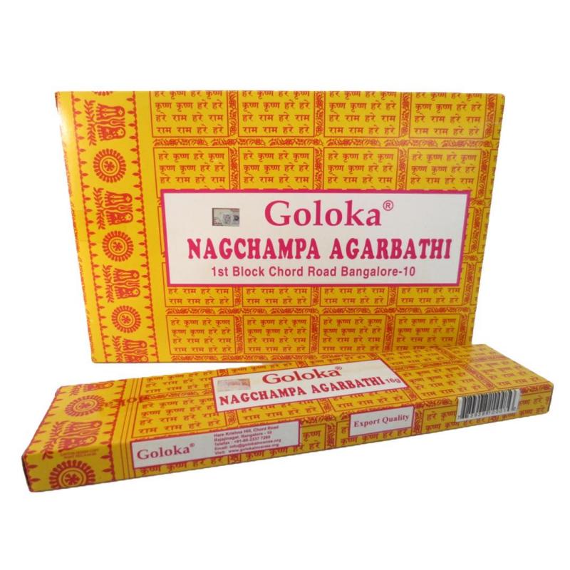 Goloka Nagchampa - rökelsepinnar