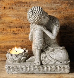 Buddha - ljushållare