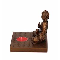 Buddha Ljushållare Bronsfärgad