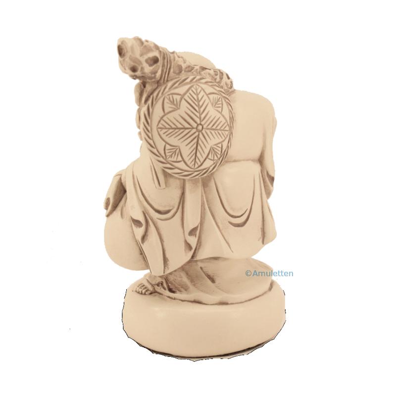 Happy Buddha staty 10 cm