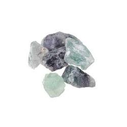 Fluorit rå sten