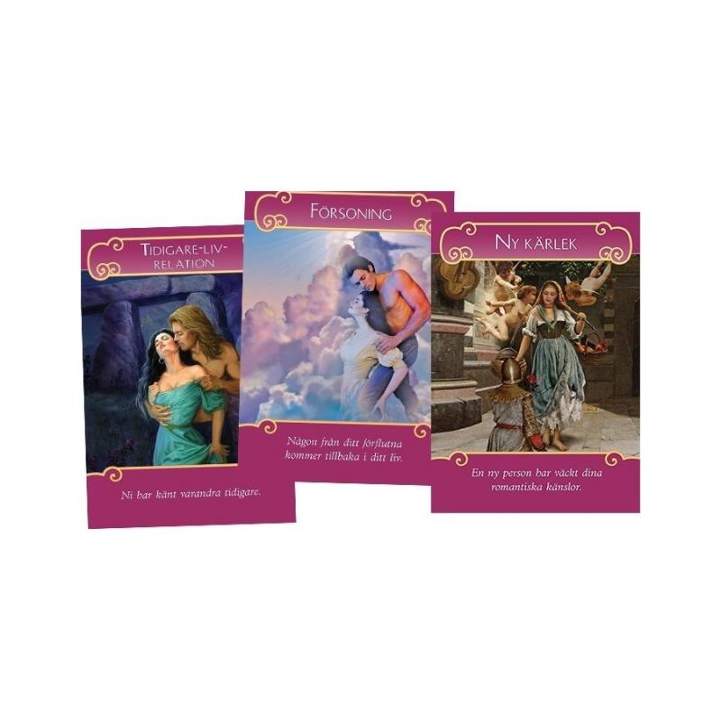 Romantikänglarna orakelkort - Doreen Virtue