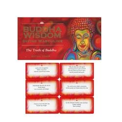 Buddha Visdomskort (engelska)