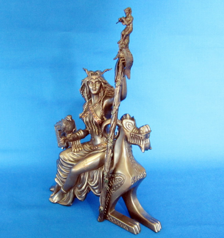 Frigga staty 27 cm
