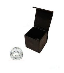 Fasetterad kristallkula 4 cm