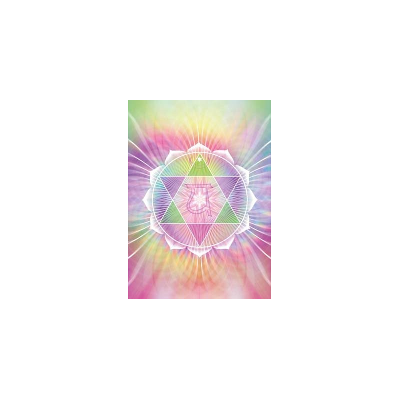 Vibrationsbild - Hjärtchakra