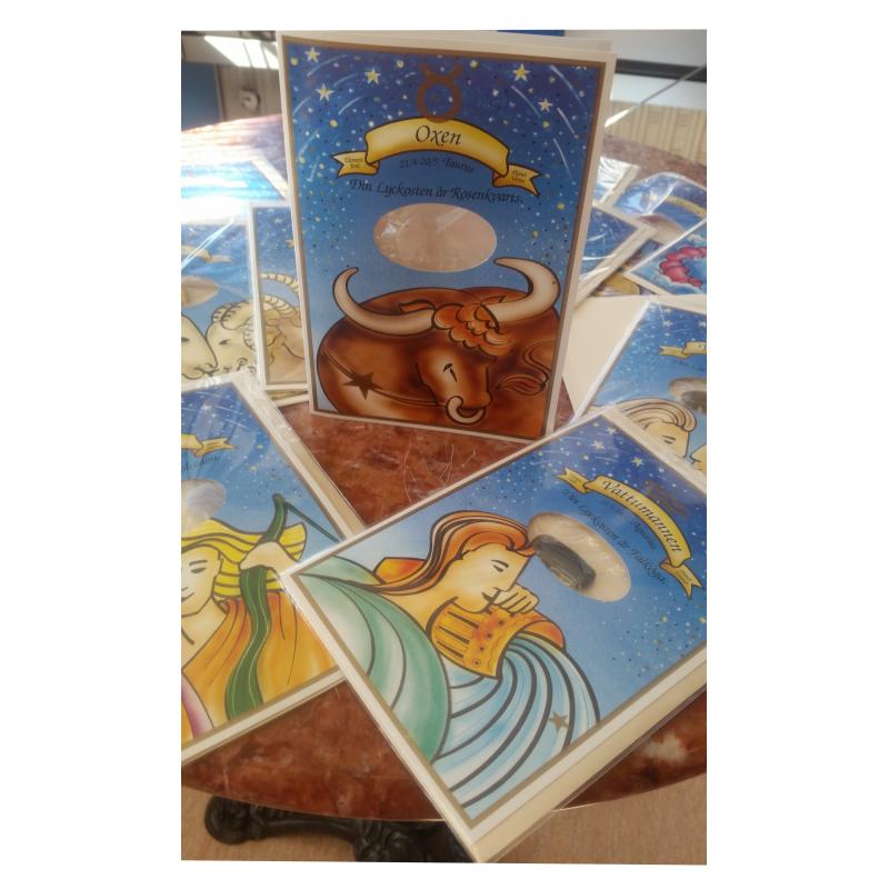 Astrokort, med sten
