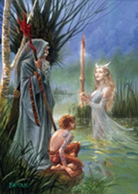 Lady of the Lake - kort