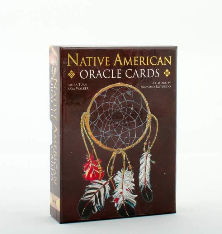 Native American orakelkort, engelska