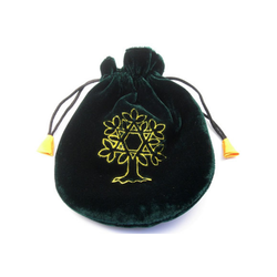 Tarotpåse fodrad - Livets Träd