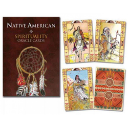 Native American Oracle Cards engelska