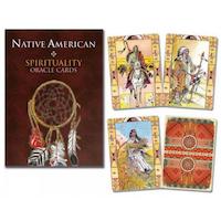Native American Oracle Cards engelska