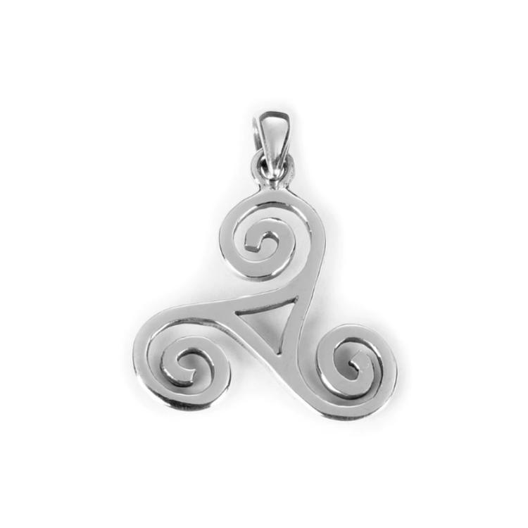 Hänge - Triskele, silver