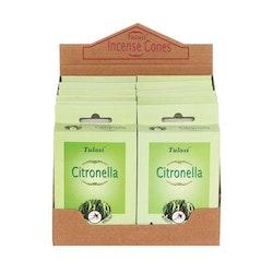 Citronella -Rökelsekoner