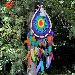 Drömfångare - Multifärgad Droppe