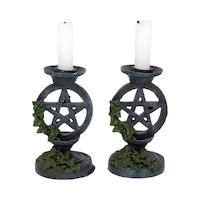 Ljushållare, pentagram och murgröna 2 st