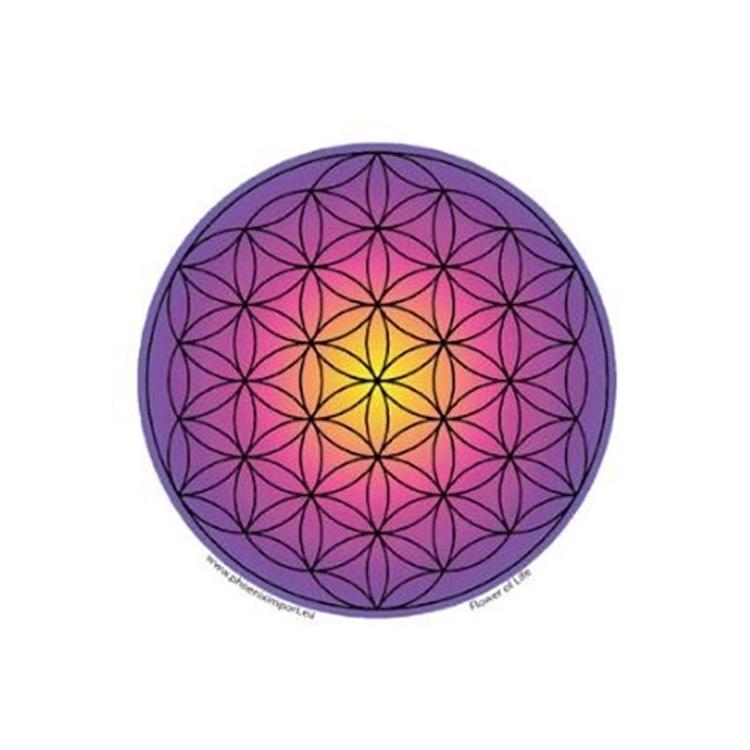 Livets blomma klistermärke 11,5 cm