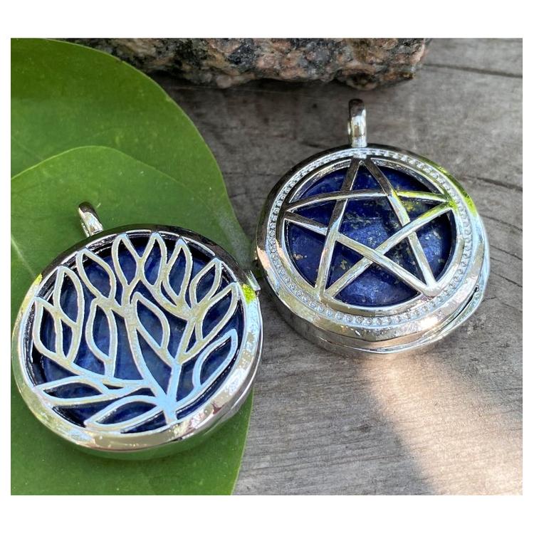 Hänge - Lapis Lazuli Pentagram