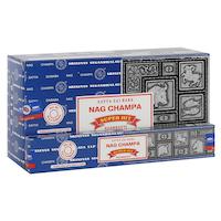 Nag Champa & Super Hit rökelsepinnar