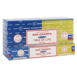 Nag Champa & Tree of Life Rökelsepinnar