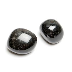 Silverobsidian - trumlad