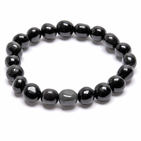 Armband, Regnbågs obsidian