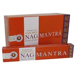 Golden Nag Mantra - Rökelsepinnar
