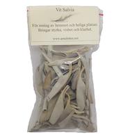 Salvia, vit lös 10 eller 50 gram