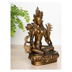 Green Tara - Staty