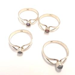 Ringar i silver 16,5-18,5mm