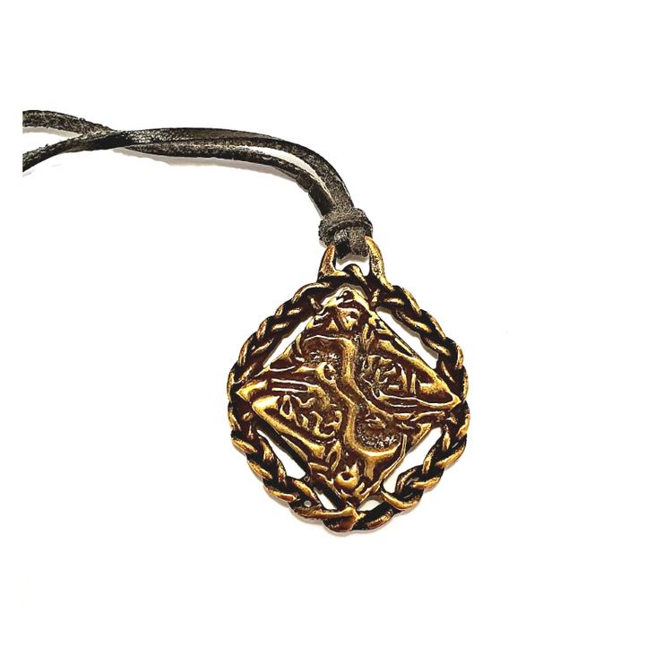 Amulett-Sammanflätat kärlekspar