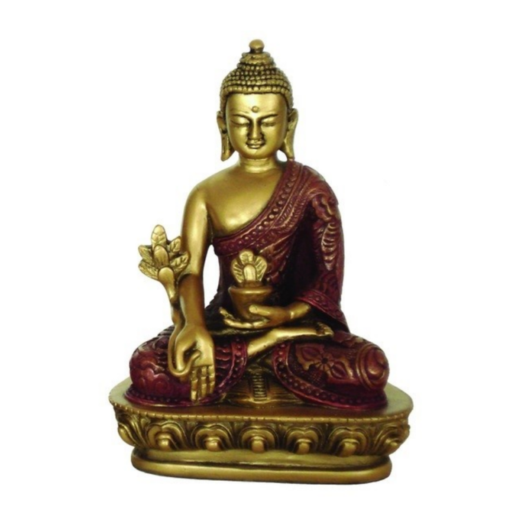 Buddha, medicin, 30cm