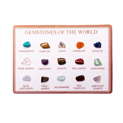 Kort med små stenar