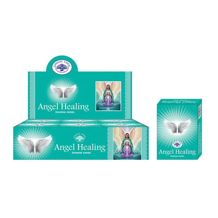Angel Healing - Green Tree rökelsekoner