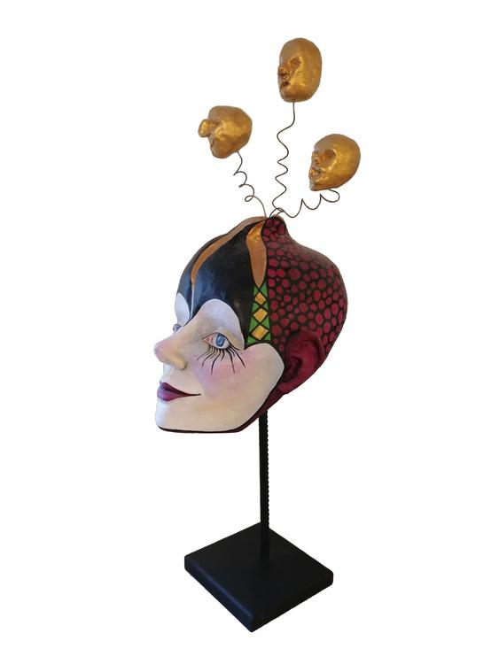 Skulptur Hjärnverk