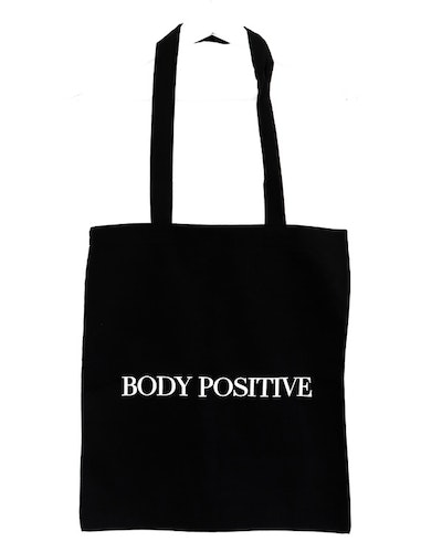 "Tygpåse ""Body positive"""