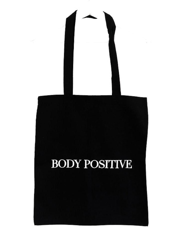 "Tygpåse ""Body positive"""