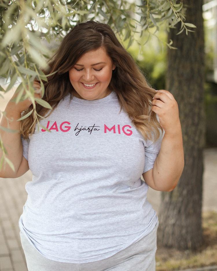 """T-shirt """"Jag hjärta mig"""""""