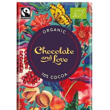 Chocolate & Love - Pomegranate - 40g
